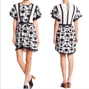 NWT Joie Gaetena flower dress.
